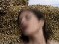 Farm maiden finds a needle in the haystack
