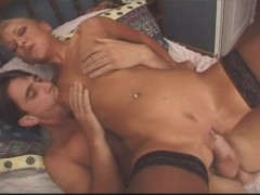 Hot wife wakes up her man in a sexy way part 2