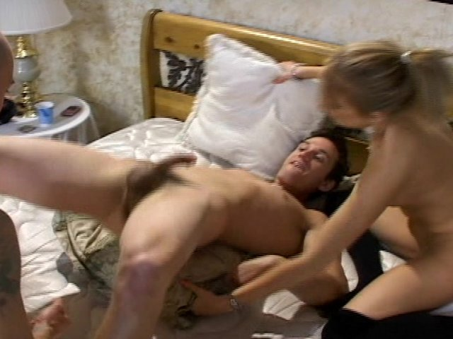 Husband and wife bisexual porn