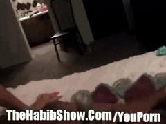 White girl Fucks Black Midget in trailer park P2