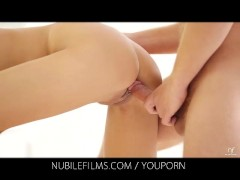 Nubile Films - Stiff cock gives Silvie Deluxe a full body orgasm