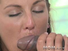 MOM Mature Wife fucks Big Black Cock