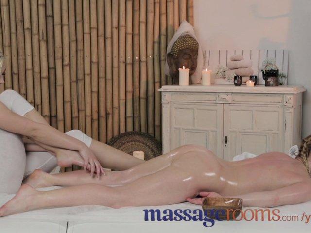 Massage rooms gorgeous teen lesbian massage 9