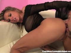 This MILF Loves To Lick Ass