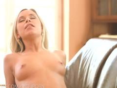 : Nubile Films - Dido Angel cums on a stiff dick