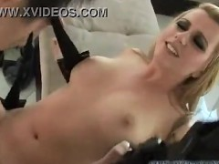 very sexy horny blonde woman agrees to let lucky stranger fuck her hard on camera!!!
