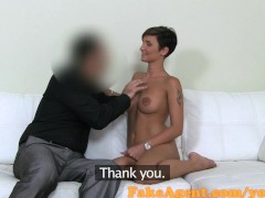 FakeAgent Hot amateur with amazing body fucked hard in Casting