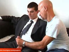 I won't sign the contract until i can suck your huge cock !