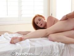 HD - PornPros Sexy redhead rides Johnny's cock