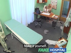 FakeHospital Triple cumshot from doctor when his mistress visits his office