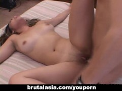 Super hot Asian bitch sixty nines and fucks real hard