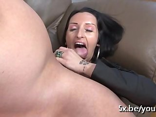 Anal Amateur video: Lou 33 years old anal fucked