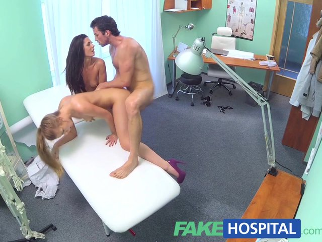 image Fakehospital naughty nurse heals patient with her tongue