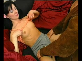 Brunette Cocksucking Cumshot video: Fist Full Of Pleasure - Julia Reaves