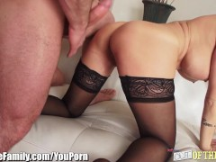 Shay Fox Tries out and Shares Cock with Daughter