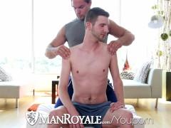 ManRoyale - Straight Stud Aspen Goes Deep in John Darlings Ass