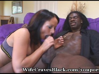 Bigtits Blowjob Brunette video: Fuck Queen Craves Black