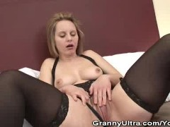 Granny Magda Loves Black Cocks