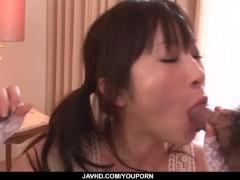 Yuwa Tokona, hot milf, fucked in gangbang series