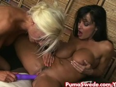 Euro blonde Puma Swede Fucks Lisa Ann!