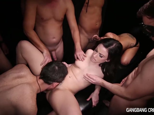 Fuck Gang bang creampie the