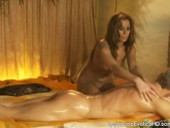 Exotic Golden Blonde Masseusse