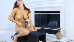 Orgasm on the sybian