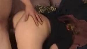 Huge Load On Girlfriends Ass