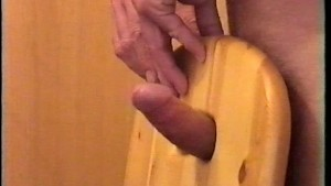 cumshot using a chair 2