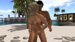 Second Life Nude Pole dance