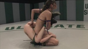Mean Amber Rayne wrestles with confidence