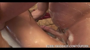 Pornstar Gives Soapy Bubbly Massage