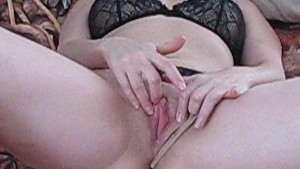 Cassy play with herself
