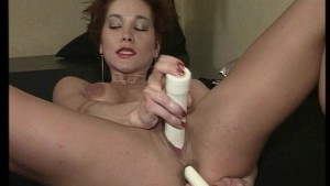 Sexy redhead can t get enough cocks