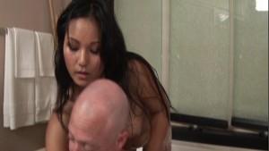 Beautiful Lana gives sensual massage p.1
