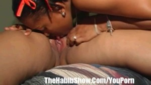 Dominican Lesbian Lovers Cum Lickers