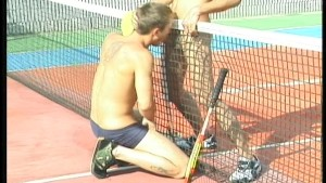 Jamming on the Tennis Court 1/4