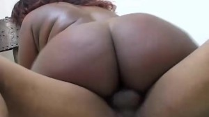 Stacked black BBW shafted