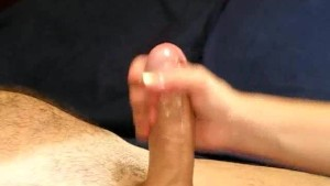 Cum Spurting Handjob