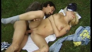 Young-Slut Gets Fucked In The Forest - DBM Video