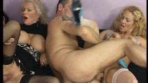 Cougars Fucked In Swinger Club