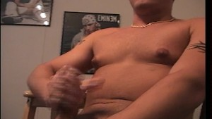 Nice looker stretches his boner