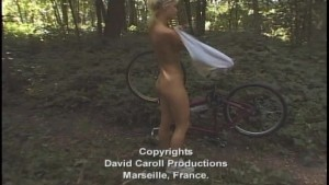 Blonde bicyclist gets rode hard part 7