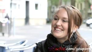 Studentin aus Koeln
