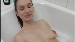 Getting clean before I suck your dick