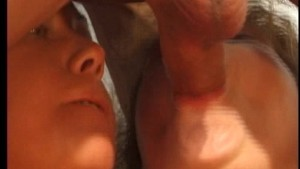 Two hot horny gals take care of hot guy (CLIP)