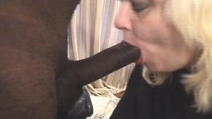 Licking and sucking a chocolate fudgeicle