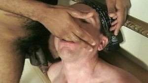 White boy gets him some dark meat (clip)