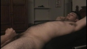 Hunky guy cums back for a second time (CLIP)