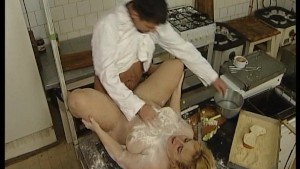 Put some flour on me and fuck the wet spot